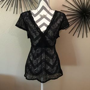 Apt 9 all soft lace top (XL)